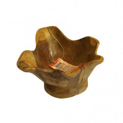 Teak Spiky Finger Bowl
