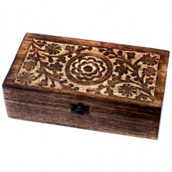 Floral Wood Aromatherapy...