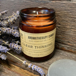 Aromatherapy Candle - Clear...
