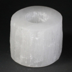 Selenite Cylinder Candle...