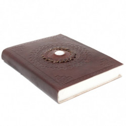 Leather Moonstone Notebook...