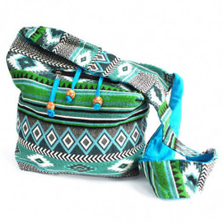 Jacquard Bag - Teal Student...