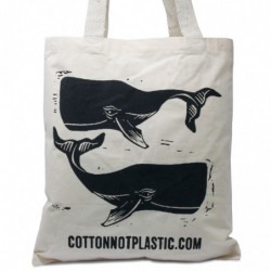 Lrg Natural 6oz Cotton Bag...
