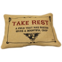 Take Rest - Washed Jute...