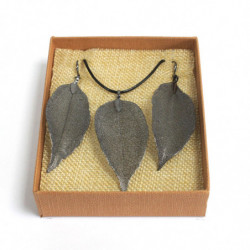 Bravery Leaf - Pewter -...