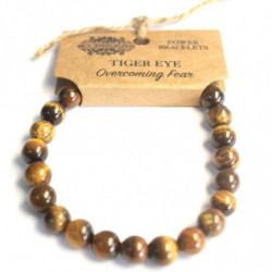 Overcoming Fear - Tiger Eye...