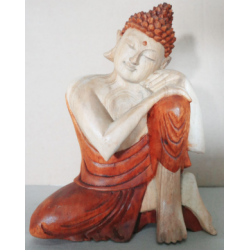 25cm Thinking - Hand Carved...