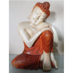 30cm Thinking - Hand Carved...
